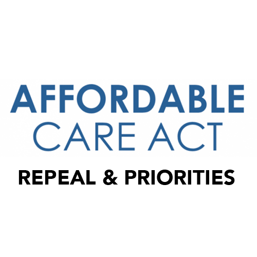 Affordable Care Act: Repeal & Priorities