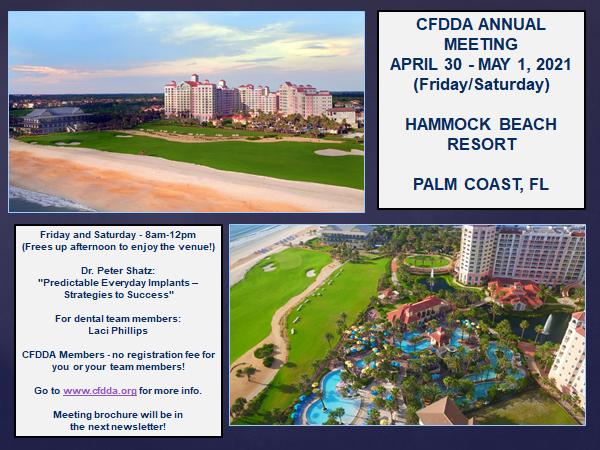 CFDDA Annual Meeting